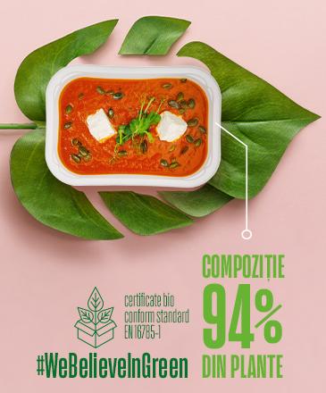 Noile caserole cu un conținut din 94% plante