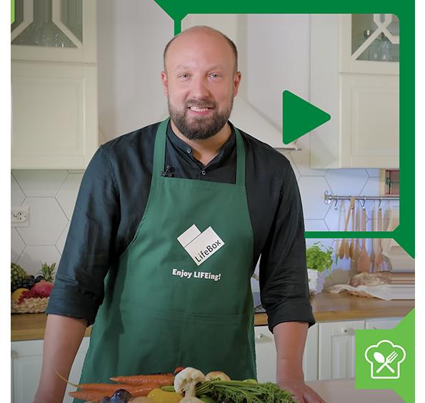 Chef Alex Cîrțu știe că dragostea trece prin stomac