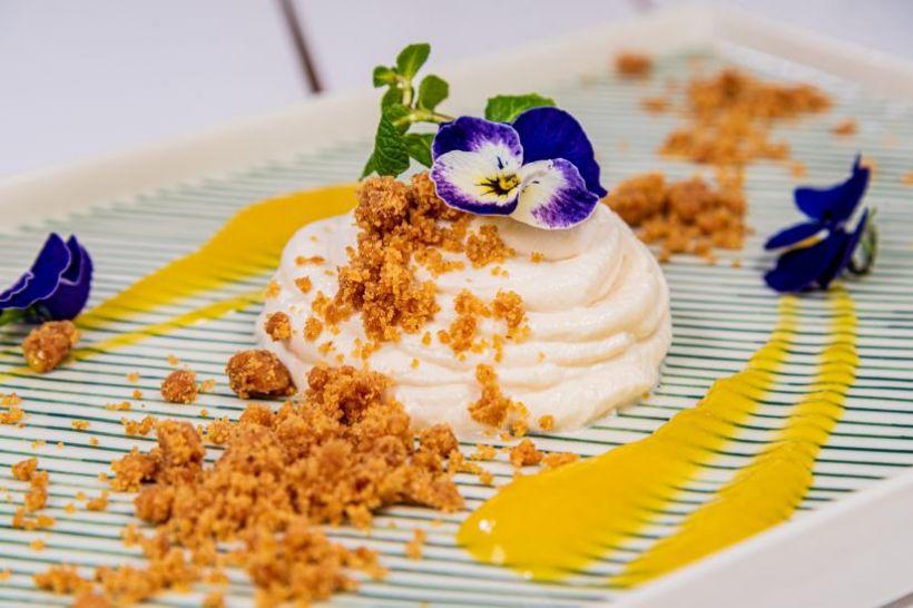 Supă cremă de linte cu semințe de dovleac